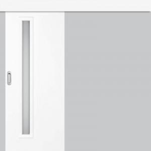 Posuvné dveře na stěnu EKO 1 sněhobíla GREKO