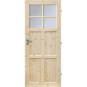 Dřevěné dveře BUDAPEST 4S