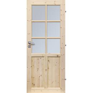 Dřevěné dveře LONDON 6S