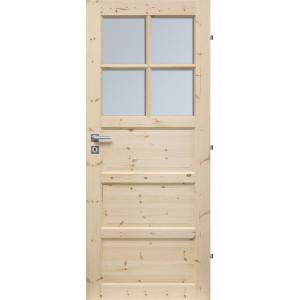 Dřevěné dveře MANCHESTER 4S