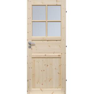 Dřevěné dveře TORONTO 4S