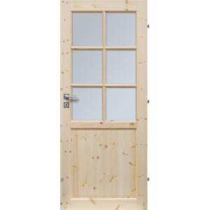 Dřevěné dveře TORONTO 6S