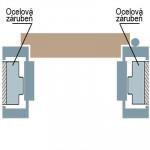 Obklad kovové zárubně - OKZ