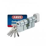 Bezpečnostní vložka s knoflíkem třídy 3 ABUS D6N 30/K35 s kartou pro dveře otev. dovnitř  + 968 Kč