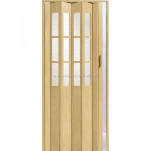 Shrnovací dveře CRYSTALLINE CLASSIC