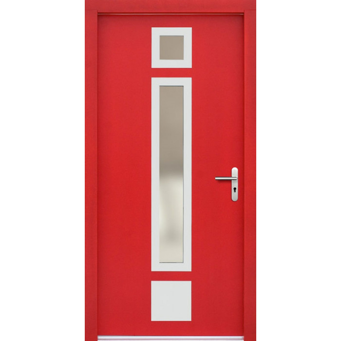 ERKADO Venkovní vchodové dveře P48