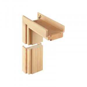 Dřevěné obložkové zárubně - dyhované (bez povrchové úpravy)
