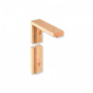 Dřevěné rámové zárubně - dýhované