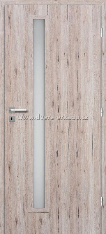 ERKADO Interiérové dveře HIELO 3/3 60/197 cm